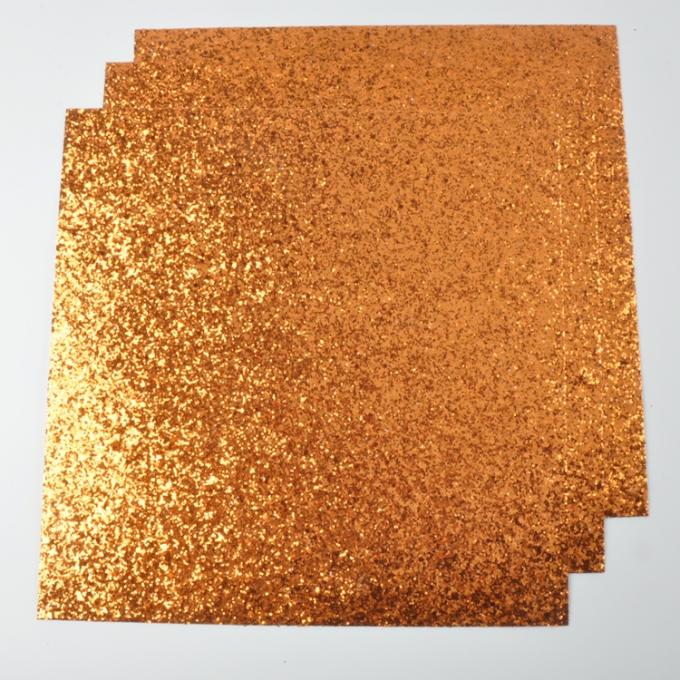 Sofa Background Wall Covering Chunky Glitter Paper 300gsm White Paper Board With Glitter