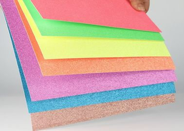 Handcraft Works Glitter Paper Craft Paperboard With Glitter For Paper Greeting Card