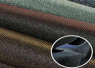 China Customized Classical Glitter Mesh Fabric Laser Shiny With TC Backing supplier