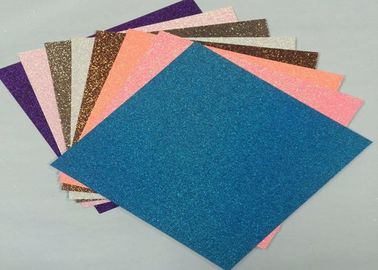 China 300gsm 12*12 Inch Glitter Card Paper Scrapbooking Glitter Paper For Children supplier