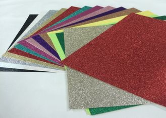 China Wonderful Invitation Glitter Card Paper Solid Glitter Paper With Glitter Various Color supplier