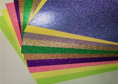 China Luxury Gift Wrapping 12x12 Glitter Paper , Colored Glitter Foam Paper supplier