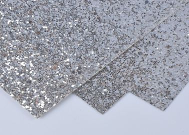 China 300gsm Invitation Card Silver Glitter Paper Cardstock For Festival Decoration supplier