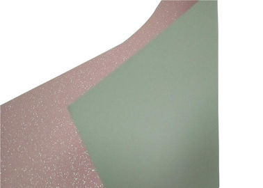 China Packing And Invitation Glitter Card Paper 0.55mm For DIY Decoration supplier