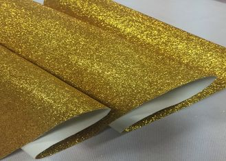 "China 54"" Width Glitter Effect Wallpaper Glitter Fabric Gold Wallpaper Pu Cloth Backing supplier"