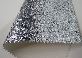 China Pu Cloth Backing Real Glitter Wallpaper , Modern Textured Sparkle Wallpaper supplier
