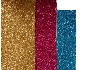 China Shiny Glitter Fabric Wallpaper , Bed Room Textured Glitter Wallpaper supplier