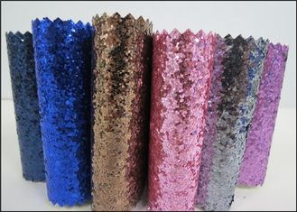 "Fancy Spandex Chunky Glitter Fabric 54"" Width For Shoes And Hair Bow"
