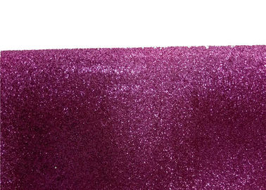 China Wall Paper Sparkle Glitter Fabric , Diy Decoration PVC Glitter Fabric supplier