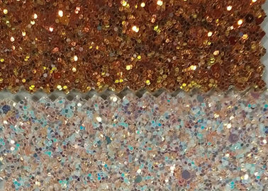 China Wall Paters And Crafts 3D Glitter Fabric 54/55'' Width And Knitted Backing Technics supplier
