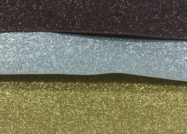 China 1mm Thickness Adhesive Glitter Foam Sheets , Anti - Slip Sticky Back Glitter Foam Sheets supplier