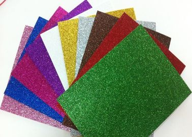 China 1.7mm Non - Toxic Die Cut Glitter EVA Foam Sheet For Craft And Kids DIY supplier