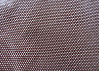 China 1.38m Width Faux Perforated Leather Fabric For Shoes Bags Clothing factory