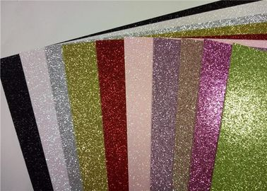 China Multi Color Glitter Card Stock Paper , 300gsm Or 200gsm A4 Glitter Card distributor