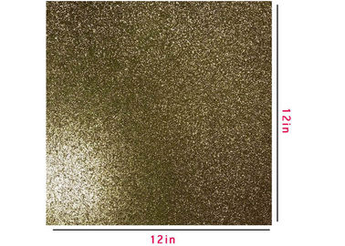 China Festival KTV Wall Decor Gold Glitter Construction Paper Custom Sizes And Patterns factory