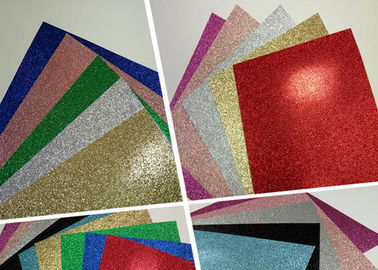 China Handmade Color Corrugated Glitter Card Paper Holiday Decoration For Card Making distributor