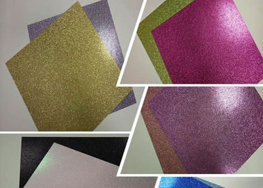 "China 12 "" * 12 ""  Weight 300g Glitter Card Paper Corrugated Paper Card Stock Paper factory"