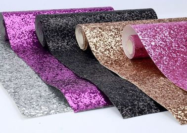 "China Fancy Spandex Chunky Glitter Fabric 54"" Width For Shoes And Hair Bow distributor"