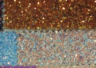 China 1.38m Width Wall Covering 3D Glitter Fabric For Wallpaper Shoes And Bags factory