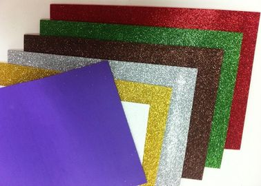 China Paper Printed Self Adhesive Glitter Foam Sheets , Water - Proof Craft Glitter Foam Sheets factory