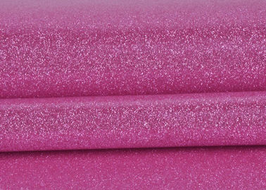 China Glitter Sand Material Shiny Glitter Fabric Children Handmade With Pvc Backing factory