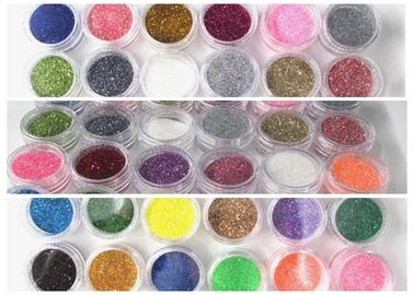 China Extra Fine Hexagon Glitter Powder 25kg Per Bag For Cosmetic And Printing distributor